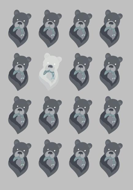 Spirit Bear Pattern