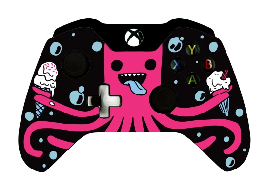 Winning Design in the Microsoft Xbox One controller design competition 2013